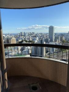 東京マリオットホテルキング客室スーペリアコーナーキング眺望