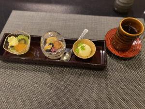 東京マリオットホテルG ~和 Selection~ディナーコースデザート
