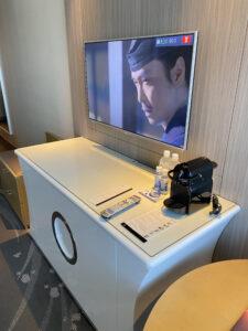 東京マリオットホテルキング客室スーペリアコーナーキング