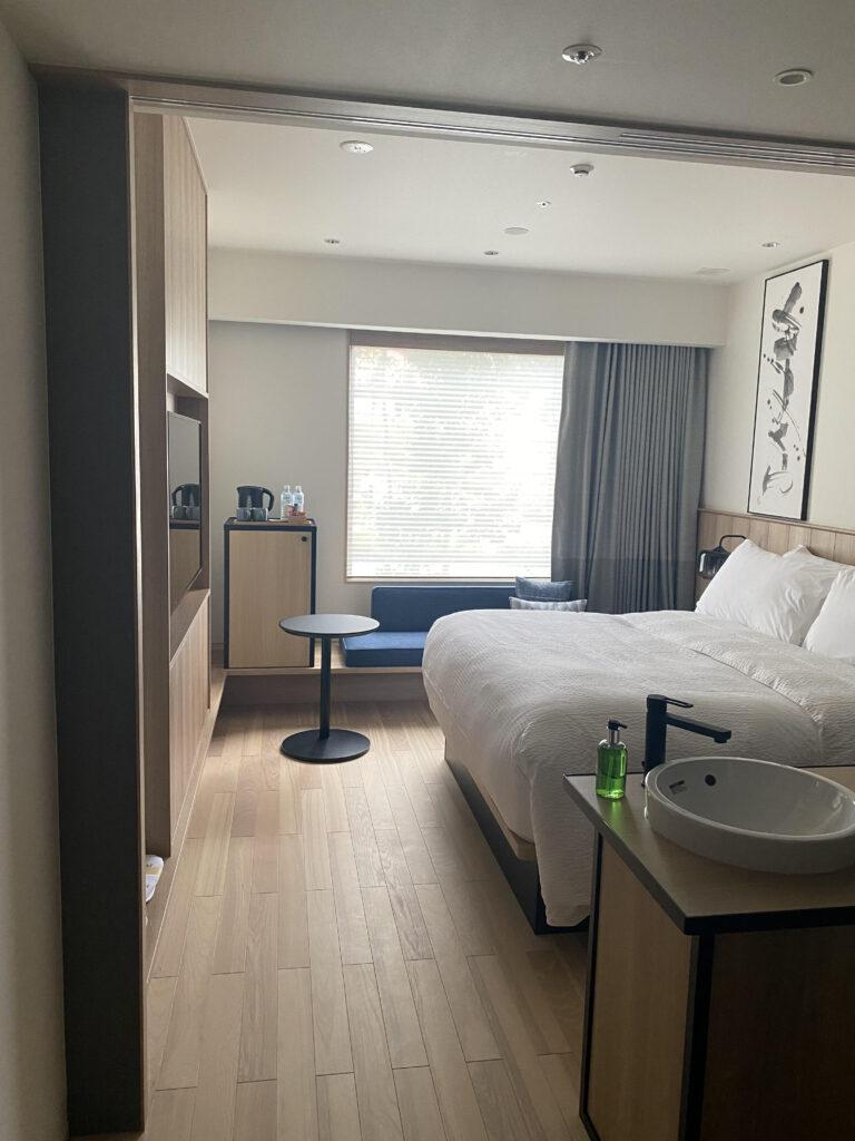 フェアフィールドバイマリオット栃木宇都宮キングサイズ客室