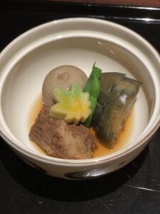 コートヤード・マリオット銀座東武ホテル銀座むらさきコース肉