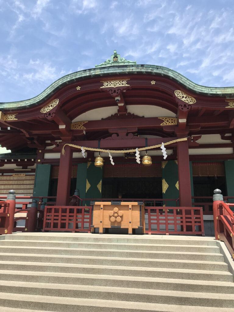亀戸天神拝殿