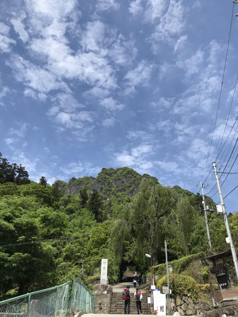 妙義神社石段太鼓橋