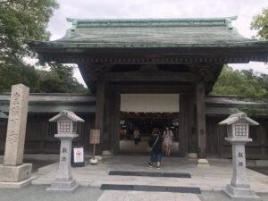 宗像大社辺津宮神門