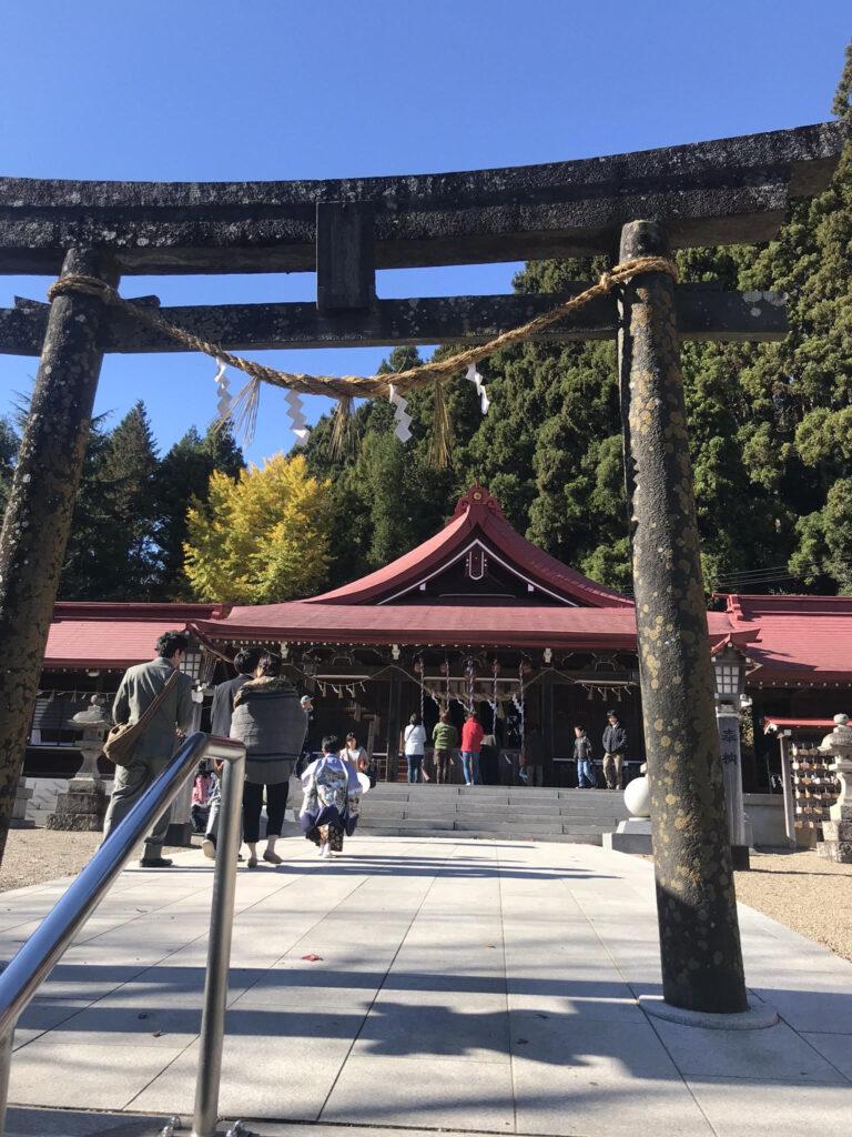 金蛇水神社本殿