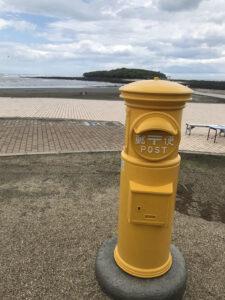 青島神社幸せの黄色いポスト