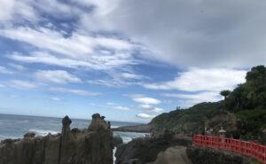 鵜戸神宮海岸